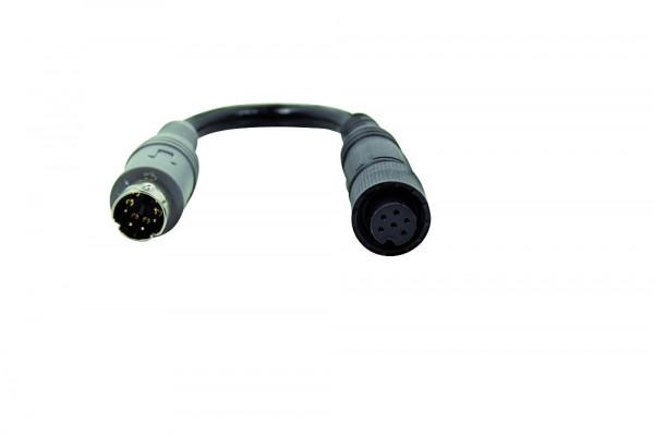 Safety Kameraadapter 6 pol. Mini-Schraubkupplung / 6. pol. Stecker für Pössl