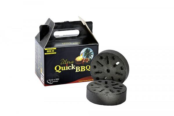 Briketti Quick BBQ 5 kappaletta grilliin - Grillit hiili,prikettit, puristeet - 9933382 - 1