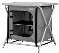 Campingschrank Rieux Alu / grau