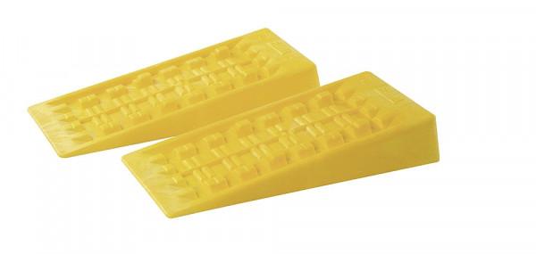 Auffahrkeil Level System gelb