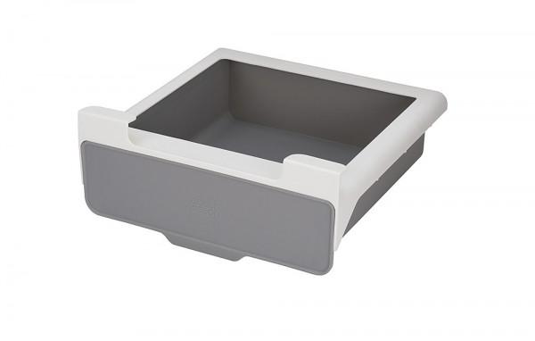 Schublade zum Anbringen im Regal CupboardStore weiß/grau