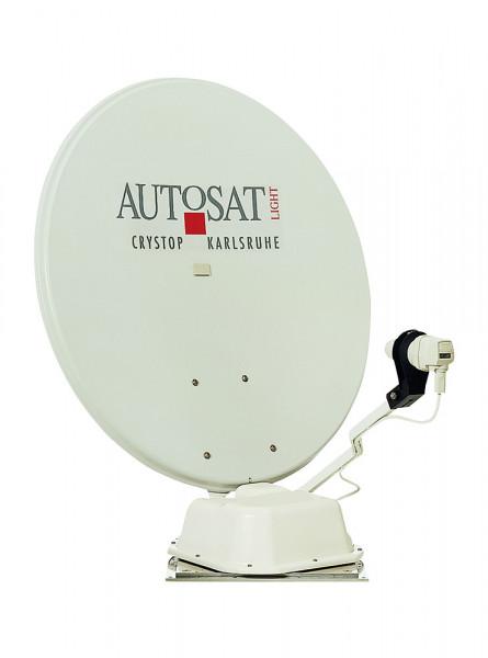 Satanlage AutoSat Light S65 Einknopf-Bedienteil, 1 Satellit