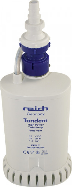 Hochleistungs-Tandemtauchpumpe mit Sieb für Hymer/LMC/TEC