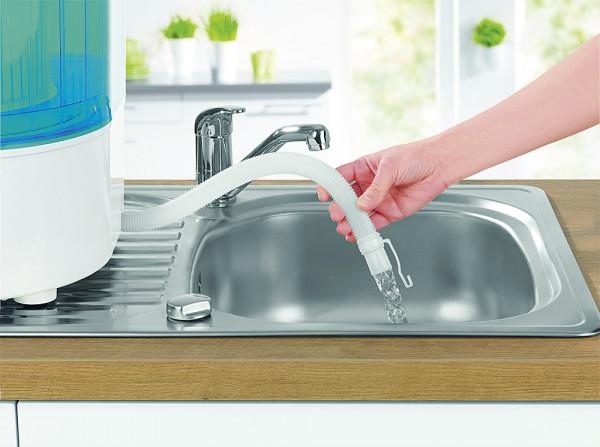 Mini-Waschmaschine 260 W weiß / blau