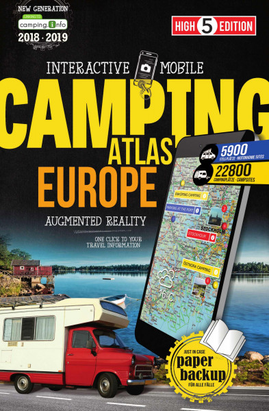 Kartenatlas Mobile Atlas Europe 2018/2019