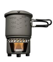 Trockenbrennstoff-Kochset 0,585 l