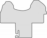 Fußmatte Nadelfilz Mercedes Sprinter W910 ab 07/2018