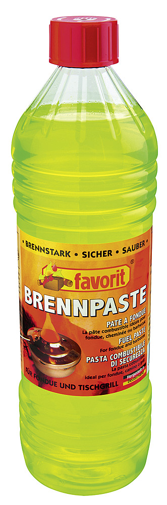 Poltto-sytytysneste Brennpaste Favorit - Grillitarvikkeet - 9953883 - 1