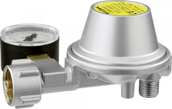 Niederdruckregler Typ EN61 0,8 kg/h Abgang 90°