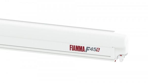 Wandmarkisenset Fiamma F45S Gehäuse Polar White mit PSA Adapter