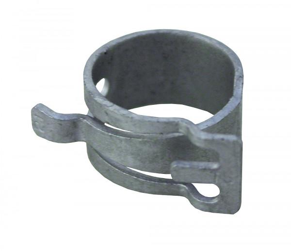 Federbandschelle WeißGELB® entspannt grau
