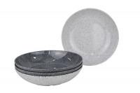 Suppenteller Melamin Classic Line Granite 4-tlg. Set