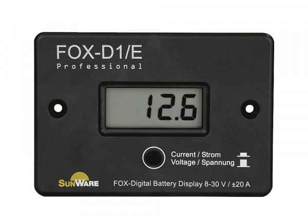 Solar-Anzeigepanel FOX-D1/E LCD