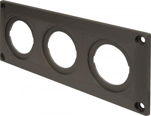 Dreifachrahmen EV schwarz
