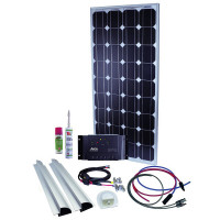 Solaranlage Caravan Kit Base Camp Perfect PRS15 120 W / 12 V