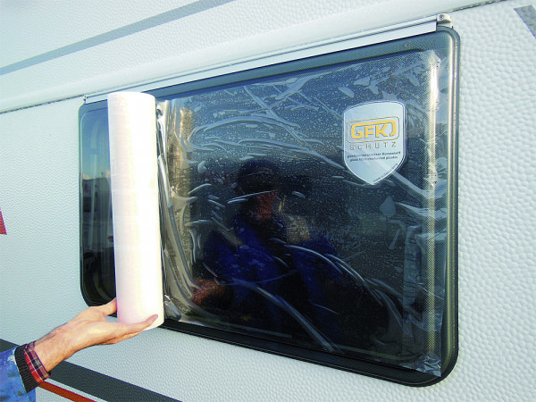 Fenster Schutzfolie Rolle 50 cm x 30 m (B x L)
