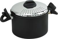 Pastatopf Aluminium PastaPronta schwarz