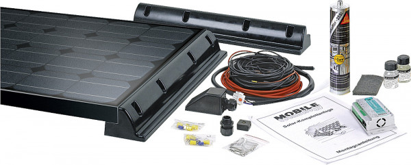 Solarkomplettanlage Black Line MT 75 MC-Slim