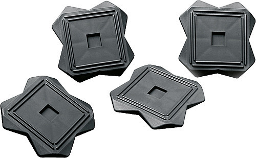 Stützplatten 4 Stück inkl. Tasche