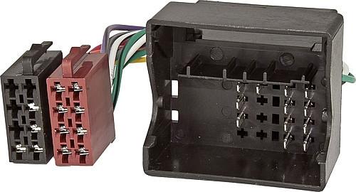 Adapterkabel zu Radios mit ISO Anschluss