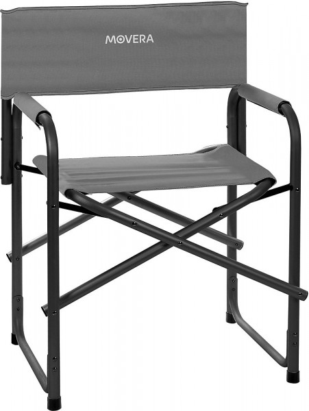 Regiestuhl Polyx klappbar, grau/schwarz