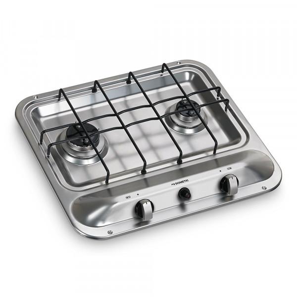 Keittiöliesi Dometic HB 2370 2-liekkinen - Dometic Liedet lasikannella ja ilman - 9950988 - 1