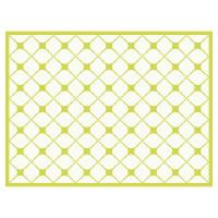 Tischset Vinyl Pattern grün