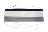 Rollosystem kpl.VD u. FL  BG2577  RAL9001 incl.Führung   MIDI-Heki