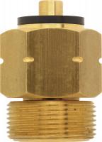 Adapter ISO 228-1 ML.H DIN Kombi für Gasflaschen