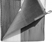 Vorzeltteppich Balmat, grau / weiß