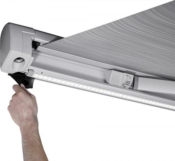 Zelt / LED-Montageschiene weiß 5,00 m, für Omnistor 5200
