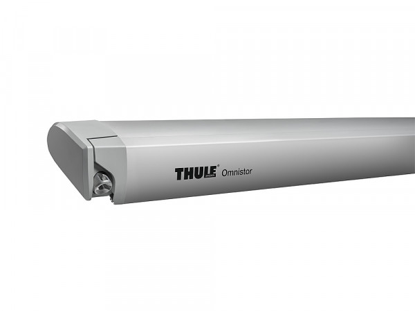 Dachmarkise Omnistor 6300 mit 12 V Motor Gehäusefarbe silber