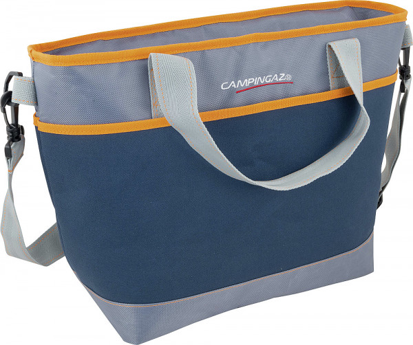 Kühltasche Tropic Shopping Cooler blau/orange 19 l