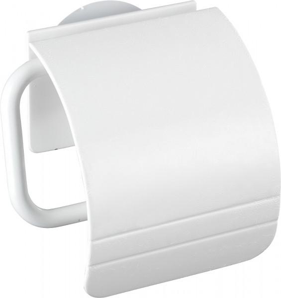 Toilettenpapierhalter mit Deckel Static-Loc®Osimo weiß