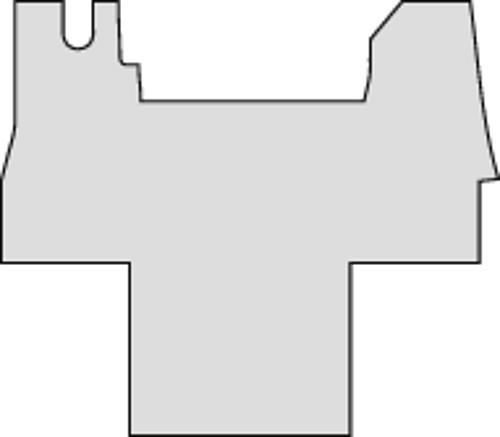 Nadelfilzteppich anthrazit für Renault Master Chassis ab 07 /2014