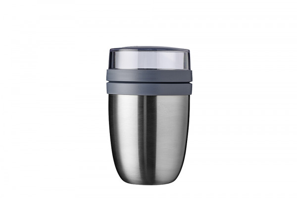 Thermo-Lunchpot Ellipse, edelstahl