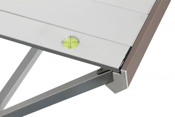 Tisch Titanium Axia 4 Alu hellgrau