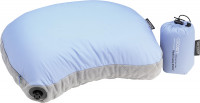 Kissen Air Core Hood/Camp Pillow light blue/grey