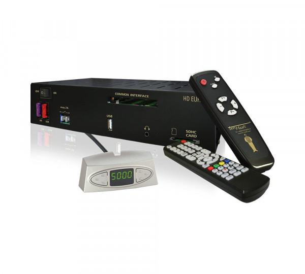 Automatische Satanlage Oyster HDTV inkl. HD-Receiver