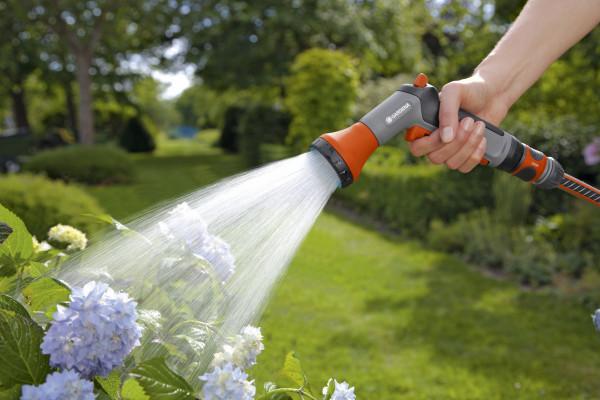 Bewässerungsbrausen Aktion