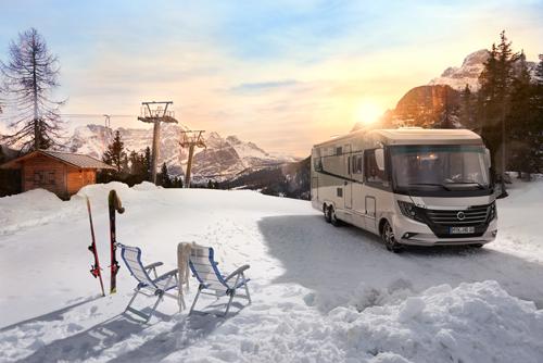 Wintercamping Niesmann-Bischoff