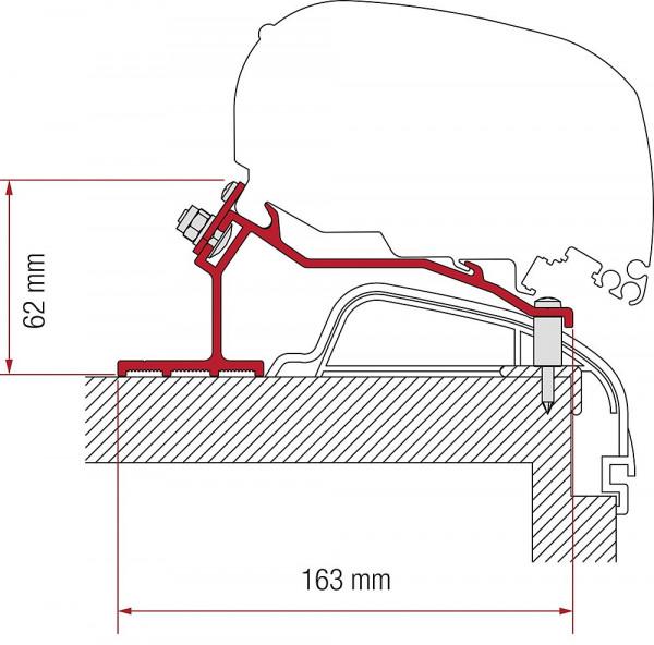 Adapter 4-tlg. Hobby Premium und Ontour ab 2012 für F80 / F65