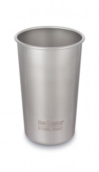 Trinkbecher Pint Cup brushed stainless,473 ml