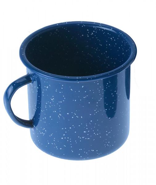 Espressotasse Emaille 118 ml, blau