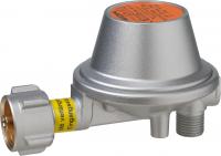 Gasregler 0,8 kg/h 50 mbar PS 16 bar KLF x G 1/4 LH-KN-90° PRV