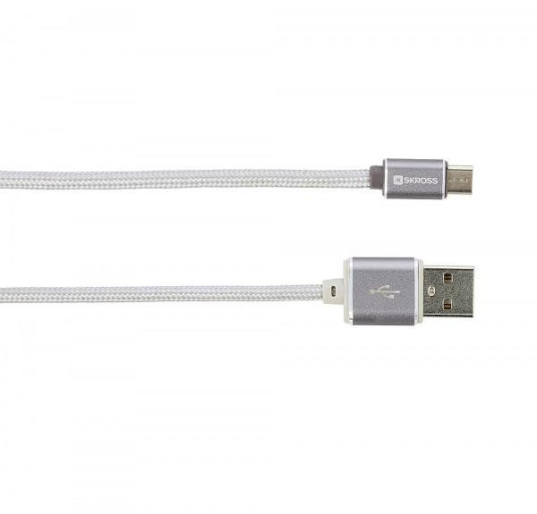 Ladekabel USB zu Micro USB Steel Line