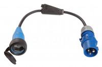 CEE Adapterleitung Typ 13, 10 A, Ausführung Schweiz