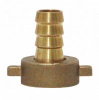 Messing-Tülle gerade 1/2 Zoll x 12 mm für flexible 12 mm Schläuche