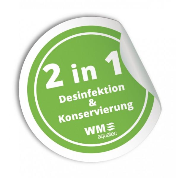 Trinkwasserdesinfektion und -Konservierung Dexda complete