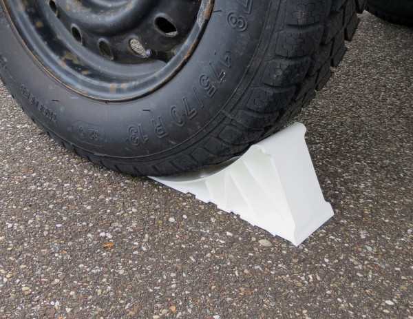 Radkeil aus Kunststoff